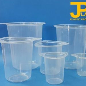 JPlast No Spill Range of Plastic Beakers