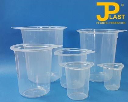 JPlast No Spill Range of Plastic Beakers