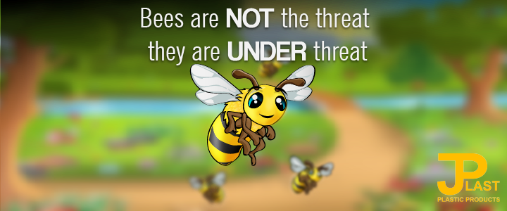 Bees are not THE threat; they are UNDER threat